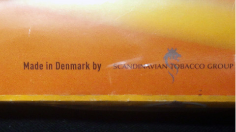 コルツ・バニラ Made in Denmark by SCANDINABIAN TOBACCO GROUP