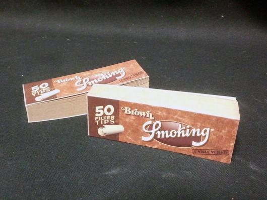 スモーキング・フィルターチップ(SMOKING BROWN FILTER TIPS)