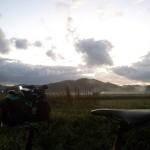 シルヴァF6F、雨上がりの早朝ライド