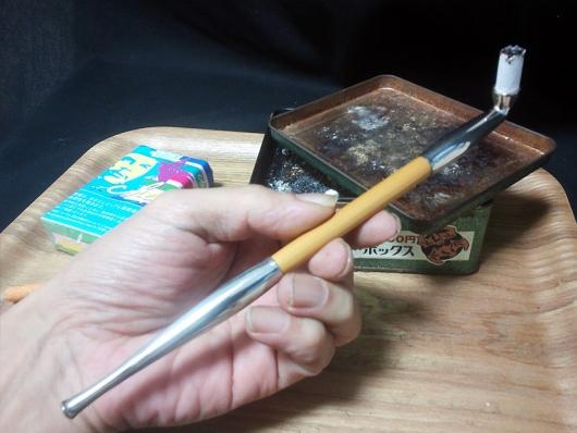 煙管(キセル)で吸うチェ・レッド