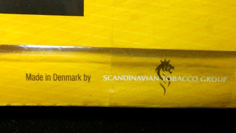 キャプテンブラック・ブライトバージニア:Made in Denmark
