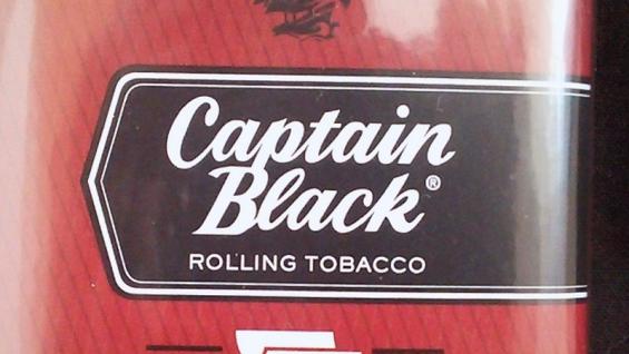 キャプテンブラック・チェリー:パウチのロゴデザイン