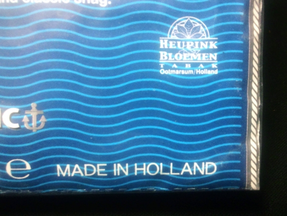 ルックアウト・クラシック:MADE IN HOLLAND, HEUPINK & BLOEMEN TABAK