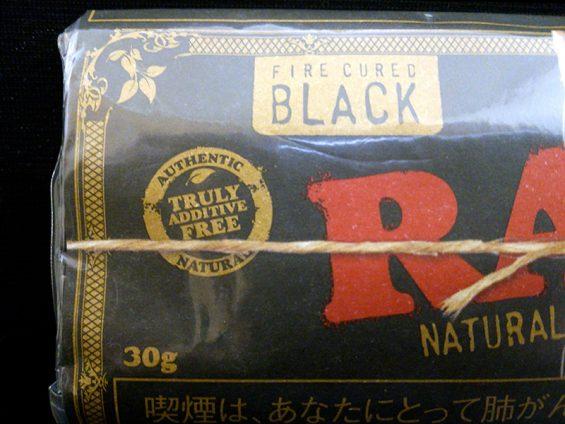 ロウ・ブラック:FIRE CURED BLACK