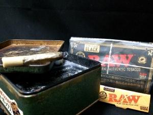 ロウ・ブラック:ロウ・クラシックでの煙の出方