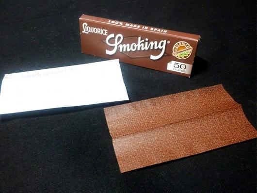 手巻きタバコ用ペーパー:スモーキング・リコリス