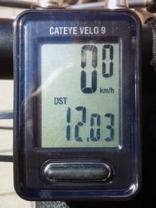 走行距離:12.03 km