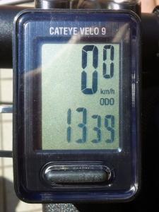 全走行距離:1339 km