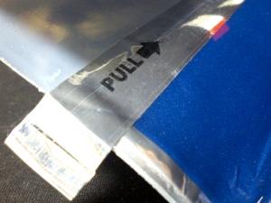アークロイヤル・フルアロマ:テープで密封
