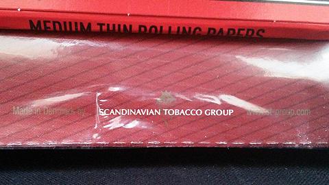 キャプテンブラック・チェリー:Made in Denmark by SCANDINAVIAN TOBACCO GROUP www.st-group.com