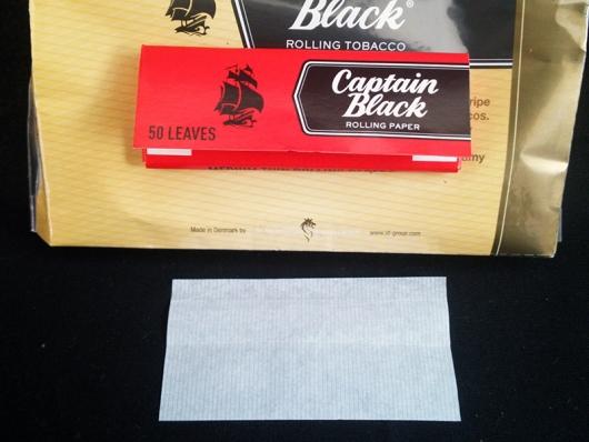 キャプテンブラック・バニラ:付属ペーパー