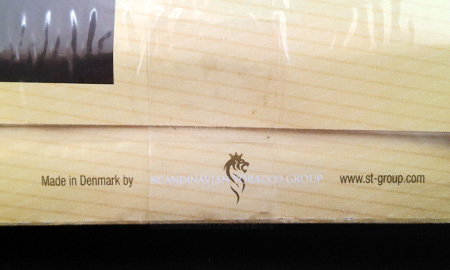 キャプテンブラック・バニラ:Made in Denmark by SCANDINAVIAN TOBACCO GROUP www.st-group.com