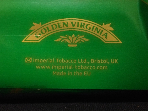 ゴールデン・バージニア:Imperial Tobacco LTD. Made in the EU