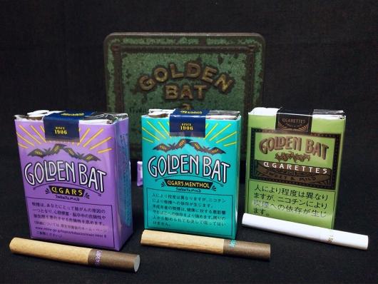 ゴールデンバット:シガー、シガーメンソール、シガレット(紙巻タバコ)