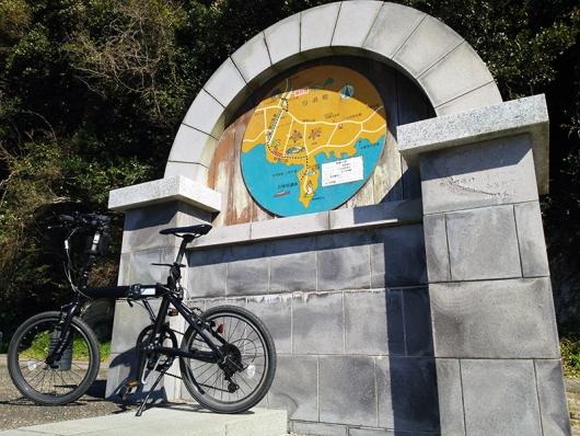 シルヴァF6Fと長尾川遊歩道~野島崎灯台案内図