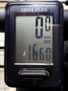 全走行距離:1660 km